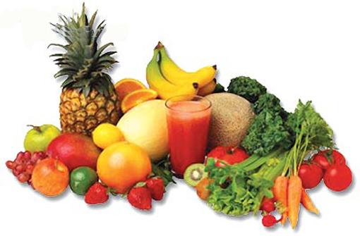 Frutas + verduras= Salud