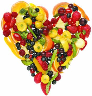 Alimentación balanceada para el corazón