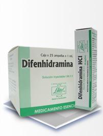 Los diferentes usos de la difenhidramina
