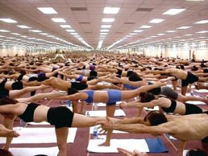 El yoga caliente: Una moda que no es para todos