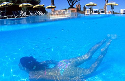 Las enfermedades en las piscinas: La piel