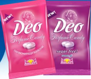 Eliminar el olor a sudor con caramelos