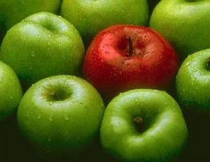 Cinco propiedades de la manzana