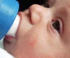 Prebióticos en la fórmula infantil para prevenir el eczema