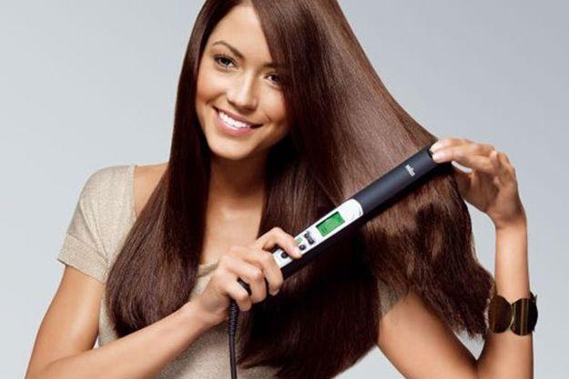 La plancha: Cinco consejos para proteger tu cabello