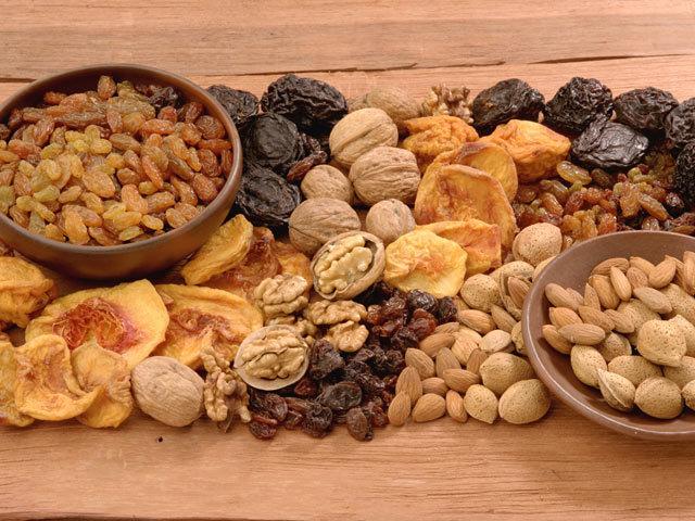 Frutos secos para vivir más