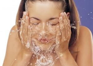 lavarse cara