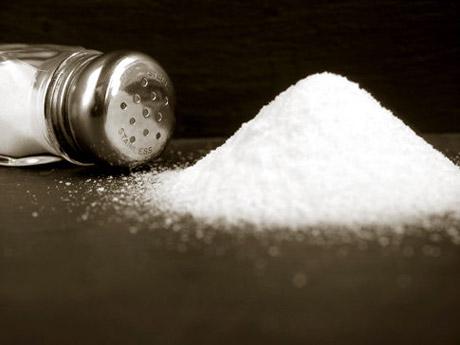 Aumenta el contenido de sal en los alimentos