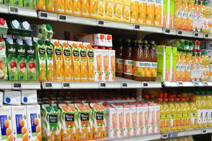 Los zumos de fruta envasados no son tan saludables como se pensaba