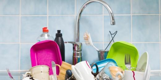 ¿Cuáles son las zonas más sucias de la cocina?
