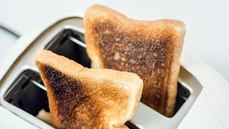 Los alimentos quemados: ¿Son peligrosos?