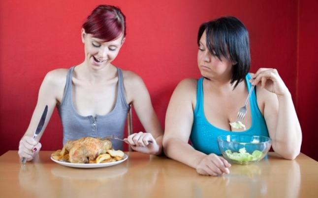 ¿Por qué algunas personas engordan y otras no?