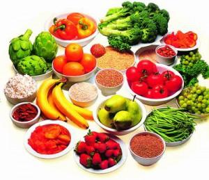 dieta de los colores