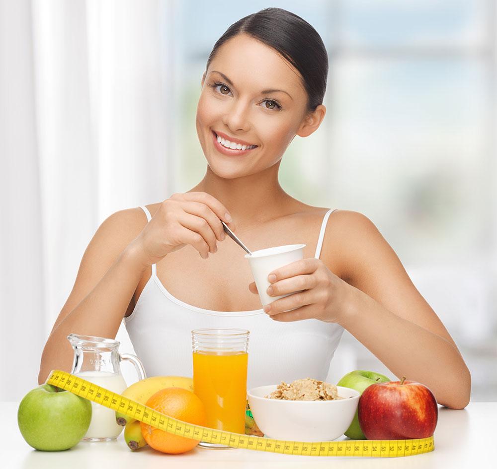 Regular el peso corporal con un buen desayuno