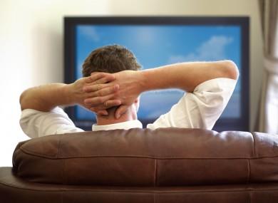 Mirar la tele