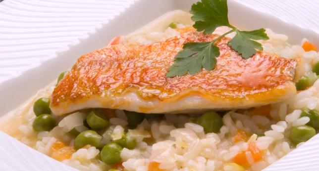 Receta de arroz y pescado