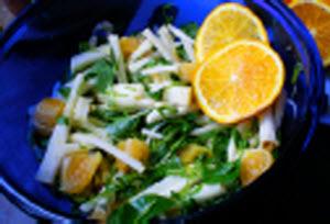 Receta de ensalada de jícama y naranja