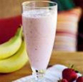 Receta de licuado fresco de fruta y yogur