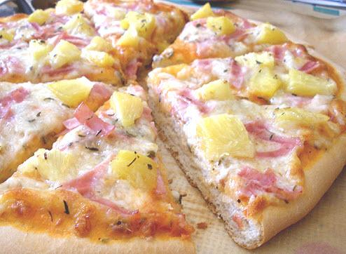 Receta de pizza rápida