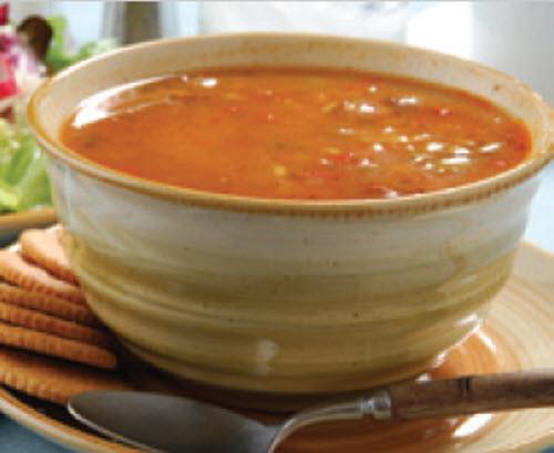 Receta de sopa en 15 minutos