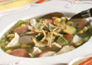 Receta de sopa de papa estilo «Tex-Mex»