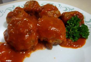 Receta de albondigas de carne de res o pollo