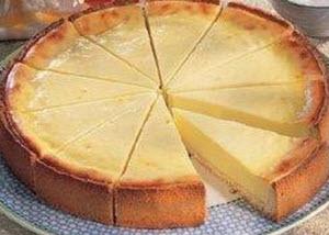 Receta de pastel de queso