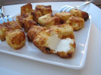 Receta de queso fresco quemado