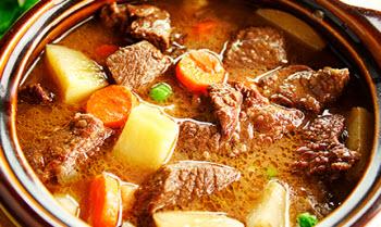 Receta de estofado de carne de res